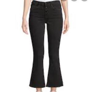 Cotton Citizen cropped mini flare jeans. Size 25